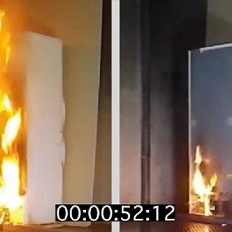 О пожаробезопасности пенополиуретанов